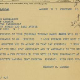 Memorandum : 1942 February 26