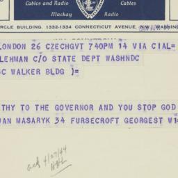 Letter : 1943 April 11