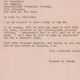 Telegram : 1944 May 27