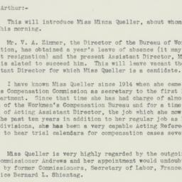 Letter: 1934 October 5