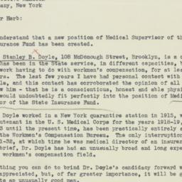 Letter: 1935 October 23