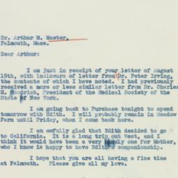 Letter : 1937 August 17
