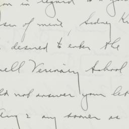 Letter: 1938 August 27