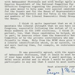 Letter: 1962 August 29