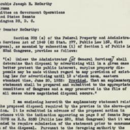 Letter : 1953 February 27