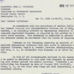 Letter : 1955 April 20