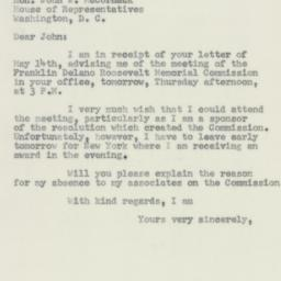 Letter : 1956 May 16