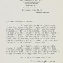Letter : 1942 November 24