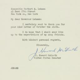 Letter : 1947 October 8
