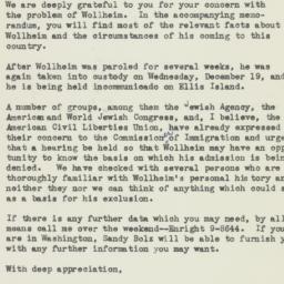 Letter : 1951 December 21