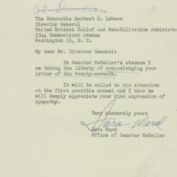 Letter : 1945 December 31