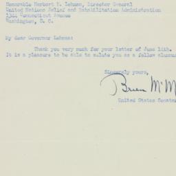 Letter : 1945 June 22