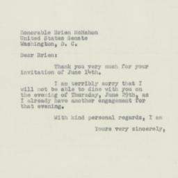 Letter: 1950 June 23