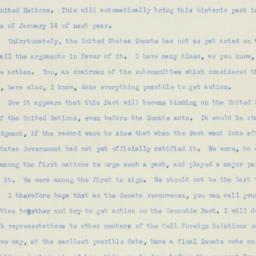 Letter: 1950 October 16