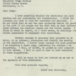 Letter : 1951 February 3