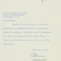 Letter: 1951 September 18