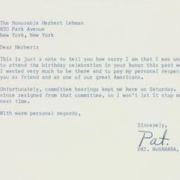 Letter : 1958 April 1