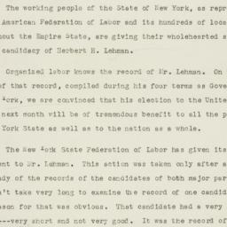 Speech: 1949 October 14