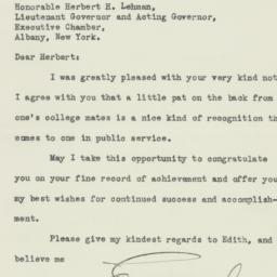 Letter : 1931 December 8