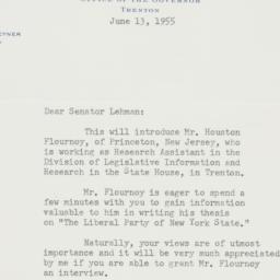 Letter : 1955 June 13
