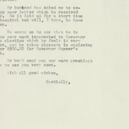 Letter : 1957 October 11