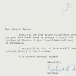 Letter : 1958 December 8