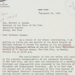 Letter : 1941 September 25