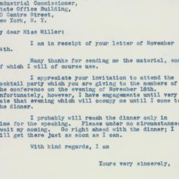 Letter : 1941 November 15