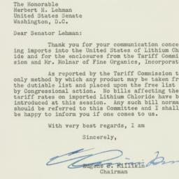 Letter : 1953 April 1