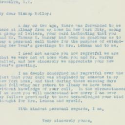 Letter : 1934 January 19