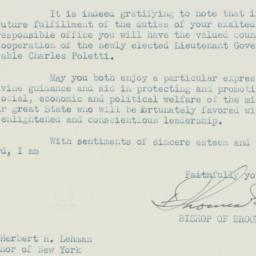Letter : 1938 November 9