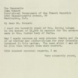 Letter : 1944 September 13