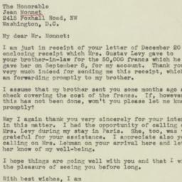 Letter : 1945 January 1