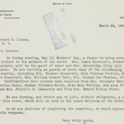 Letter : 1934 March 24