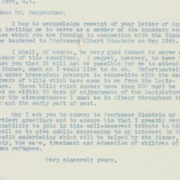 Letter : 1935 May 6