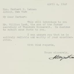 Letter : 1940 April 4
