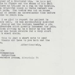 Letter : 1963 February 15