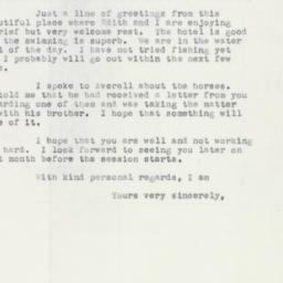 Letter : 1952 November 30