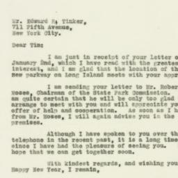 Letter : 1930 January 4