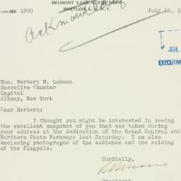 Letter : 1933 July 19