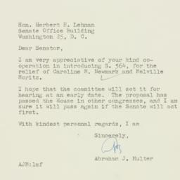 Letter : 1955 January 26