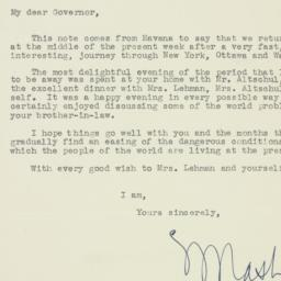 Letter : 1948 March 20