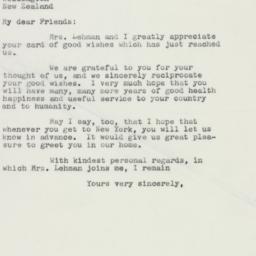 Letter : 1958 December 4