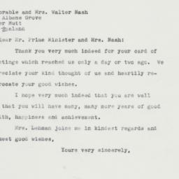 Letter : 1961 December 26