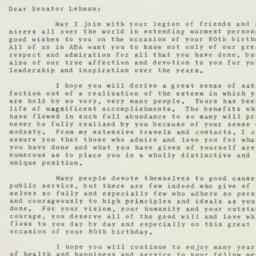 Letter : 1958 March 27