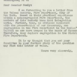Letter: 1951 December 19