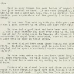Letter: 1955 August 24