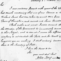 Document, 1798 March 08