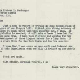 Letter: 1956 January 16