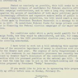 Letter: 1956 February 16